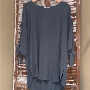 Umgee Cold Shoulder Tunic